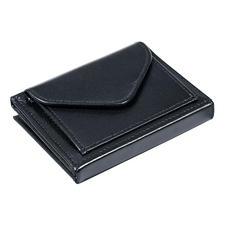 Multi Wallet met muntvak, zwart