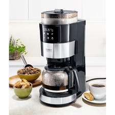 Caso koffiezetapparaat met maalwerk - De beste filterkoffie: vers gemalen en direct gezet.