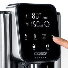 Met de sensor-touch-display bepaalt u de temperatuur van het water en de gewenste hoeveelheid water (max. 2,7l).
