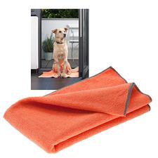Bioactieve handdoek voor huisdieren, set van 3 - Supersnel een droge vacht en schone poten, en geen vervelende luchtjes.