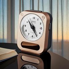 Radiografische wekker - Nooit meer batterijen vervangen, nooit meer verslapen.