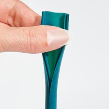 Met één handgreep in de lengte geopend-perfect hygiënisch schoon te maken.