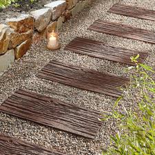 Gerecyclede staptegel, set van 4 - Lichter dan echte stenen. Duurzamer dan hout.