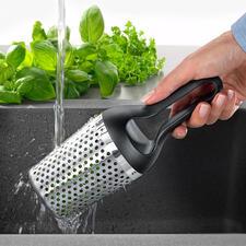 Rösle kruidendouche - Tuinkruiden wassen, drogen en fijnhakken - snel en gemakkelijk als nooit tevoren.