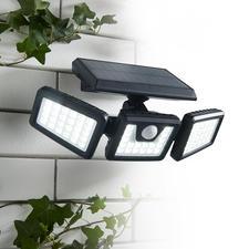 Solar-veiligheidslamp van 1.000 lumen - Praktische variabel instelbare solarlamp voor extra veiligheid.