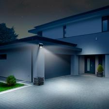Met de 3beweegbare spots verlicht u exact de gewenste plek, tot in elke hoek.