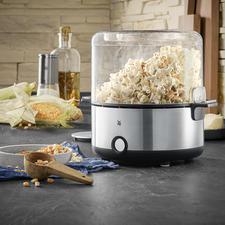 Heel smakelijk: draai gewoon de deksel van doorzichtig glas om en serveer hierin de popcorn.