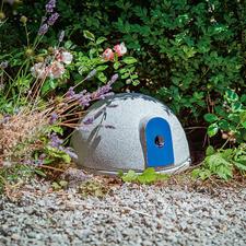 Granicium® hommelburcht - Deze burcht biedt de nuttige hommel een veilige plek om een nest te maken. Van Granicium®-keramiek.