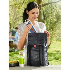 2-in-1-lunchbag - Trendy vanbuiten, isolerend vanbinnen. Perfect voor het meenemen van levensmiddelen.