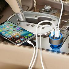 High Speed USB-autolader met 3 poorten - De nieuwe generatie High Speed autolader: tot wel 4x sneller.