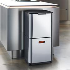 Afvalscheidingssysteem 'Intelligent Waste' - Stijlvol, clean design met een praktische indeling. Van Joseph Joseph, Londen.
