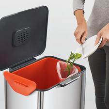 Uitneembaar 3l-bakje voor bijv. bio-afval.