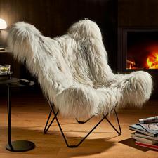 Mariposa loungestoel - Ooit een pionier op het gebied van bijzonder comfort. Tegenwoordig een riante, elegante klassieker. Origineel design van Cuero, Zweden.