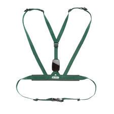 Alle riemen kunnen individueel versteld worden. De zachte bekleding zorgt voor maximaal comfort. Het 6,5 x 4,4 cm kleine element op uw rug werkt volgens de biofeedbackmethode.