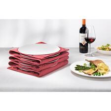 Bordenwarmer - Met heet eetoppervlak en handwarme randen. Voor max. 8 grote (pasta)borden.
