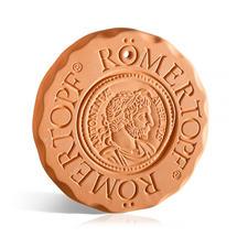 RÖMERTOPF® warmhoud- en koelplaatje - De 'warm- en koelbloedige Toni' is broodjeswarmer, onderzetter, koelaccu enz. tegelijk. Origineel RÖMERTOPF®-aardewerk.
