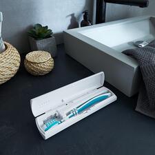 UV-C-tandenborstelcase - Hygiënisch en veilig: case met desinfecterend UV-C-licht voor tandenborstels.