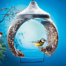 Vogelvoerhuisje - Goed nieuws voor de hongerige vogel.