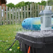 Met de hoge beschermingsklasse IP 55 is de DRi®BOX 100 % stof- en waterdicht.