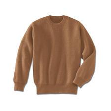 Pullover van kameelhaar - De luxe van een echte kameelhaar-pullover.