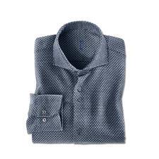 Dufour jaspé-winteroverhemd - Een overhemd zo warm en comfortabel als uw lievelingstrui.
