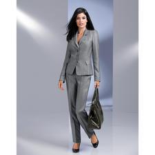 Barbara Schwarzer 'platina'-blazer of -pantalon - Het ideale designerkostuum voor elke dag.