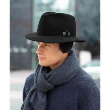 Mayser-winterhoed - Stijlvol als een hoed, maar zo warm als een muts. Met fleece-inzet en oorkleppen.