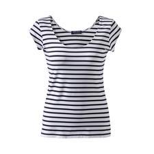 Bretagne-shirt van microfiber - Al meer dan 15 jaar het lievelingsshirt in de collectie van Saint James. Het Bretagne-shirt gemaakt van Meryl®.