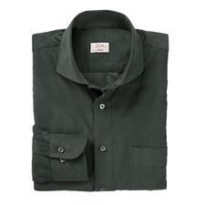 DU4 fijncord-overhemd - Zo fijn kan fijncord zijn: dit vrijetijds-overhemd is zo stijlvol als een business-overhemd.