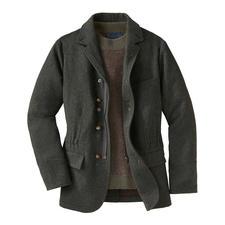 Hunting jacket - Het hunting jacket van zuiver scheerwol. Van nature behaaglijk warm en waterafstotend.