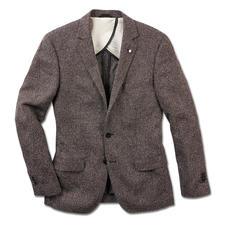 Karl Lagerfeld colbert van zomertweed - Tweed – nu als een lichte en luchtige zomerversie. Modieus licht dankzij zijde en katoen. Van Karl Lagerfeld.