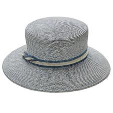 Mayser strokenhoed - Van aan elkaar genaaide stevige stroken van linnen- en hennepvezels. Van Mayser, hoedenproducent sinds 1800.