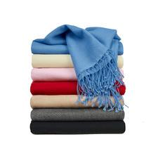 Pashmina-sjaal - Met de hand geweven Pashmina: zo dun, dat u de stola door uw trouwring kunt halen.