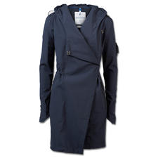 Sailors & Brides lange softshell-jas - Design of functie? Beide! Ventilerende, water- en winddichte softshell-jas. Van Sailors & Brides.