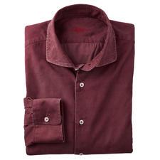 Ingram gestructureerd fluwelen overhemd - Veel geschikter voor dagelijks gebruik (en modieuzer) dan de meeste andere overhemden van fluweel.