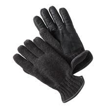 Gebreide handschoenen met nappaleer - Warm en winddicht, elegant en elastisch: alle kenmerken van een goede handschoen. Van Otto Kessler.