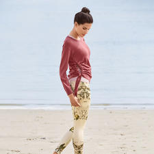Top, tricotsweater en 7/8-legging