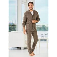 Zimmerli Gentleman Homesuit - Het huispak voor de gentleman: Italiaanse Jersey. Elegante snit. Modieuze details. Van Zimmerli.