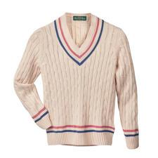 Alan Paine crickettrui voor dames - Alan Paine heeft de legendarische crickettrui uitgevonden. En nu heeft het merk hem opnieuw uitgevonden.