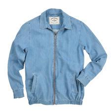 Portuguese Flannel superlicht jeansjack - Zelfs lichter en luchtiger dan de meeste jeansoverhemden. Zomers jeansjack in basic stijl van Portuguese Flannel