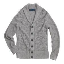 Carbery Aran-zomervest - Aran-breisel in zomerse stijl. Luchtig vest van linnen en katoen – made in Ireland, van Carbery.
