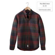The BDO-shirt, Limited Edition No.53, Slim Fit - Ontdek een goede oude vriend. En vergeet dat een overhemd moet worden gestreken.