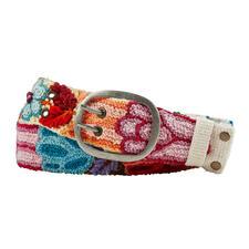 Smitten Peruaanse riem met borduursel - Dit handgestikte exemplaar uit Peru is echt uniek.