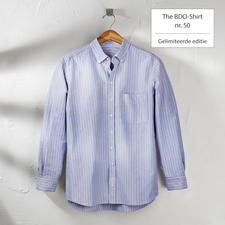 The BDO-shirt, Limited Edition nr.50 - Ontdek een goede oude vriend. En vergeet dat een overhemd moet worden gestreken.