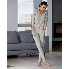 Homesuit van modal - Licht als een T-shirt en altijd zijdezacht: deze homewear is helemaal up-to-date.