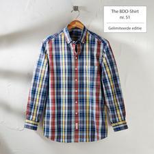 The BDO-Shirt, Limited Edition No. 51, Slim Fit - Ontdek een goede oude vriend. En vergeet dat een overhemd moet worden gestreken.