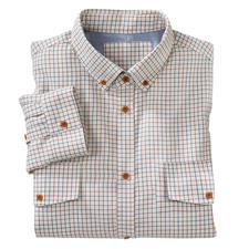 Peregrine licht flanellen  Tattersall-overhemd - Tattersall: de stijlvolle Britse klassieker onder de modieuze ruiten. Van Peregrine.