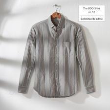 The BDO-shirt, Limited Edition No.52 - Ontdek een goede oude vriend. En vergeet dat een overhemd moet worden gestreken.