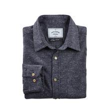 Donegal-overhemd - Aangenaam zacht, anders dan de robuuste tweed-look doet vermoeden.