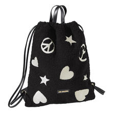 Love Moschino gym bag met imitatiebont - Van de sportschool naar de catwalk – de gymtas is een echt mode-item geworden. Stijlvol, uniek en betaalbaar.